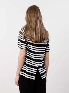 Stylein Carlo Striped Black