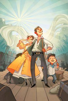 Good character design artist; Illustrator Joy Ang