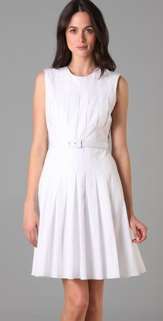Raoul box pleated dress...too bad they don't have my size!