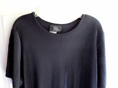 Women's Pull Over Shirt Top By You Nique 1X Black  #YouNique #KnitTop