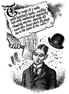 """""""Robert Crumb's most grimly glorious contribution to the literary canon came with the 2007 release of """"Kafka"""" — a succinct and illuminating biography by David Zane Mairowitz."""" (M. Popova, brainpickings.com)"""