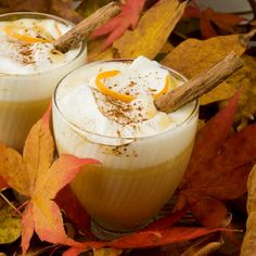 Pumpkin Spice Hot White Chocolate.... Holy yum!!!
