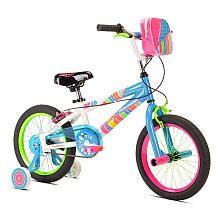 Girls' 16 inch LittleMissMatched Zipper Bike