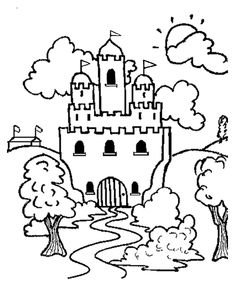 Medieval Coloring Pages 312