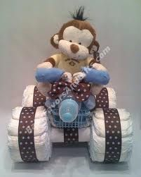 baby shower gift cake diapers - Google 検索