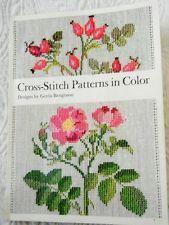 VTG 36 Counted Cross Stitch Patterns in Color - Danish Guild  Gerda Bengtsson