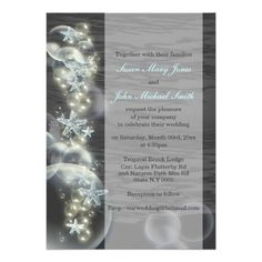 "A beautiful design of starfish and bubbles in pastel blue, white and pale gray which form a decorative border to this elegant, chic and classy 5x7"" invitation. COLORS - Grey and sea blues. CUSTOMIZE IT - Change the wording to suit your formal or upmarket gathering, event or party. IDEAL FOR - Tropical, under the sea, beach  themed weddings, engagements, anniversaries, bridal showers, bachelorette, sweet sixteen and quinceanera celebrations."