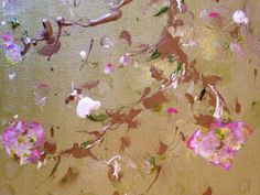 "Liza Matthews Pop Up Shop: Chartreuse Botanical 12"" x 12"""