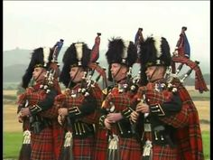The Gaels - The Pipes and Drums of the Royal Scots Dragoon Guards...Chills if ya have a drop of Celtic blood in ya.