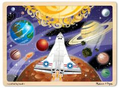 48 pc. Space Voyage Jigsaw Puzzle by Melissa and Doug by Melissa & Doug