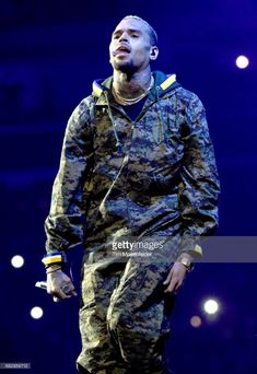 Chris Brown performs during 'The Party Tour' at Golden 1 Center on May 13, 2017 in Sacramento, California.
