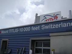 Mt Titlis Switzerland