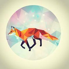 polygon fox animal