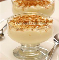 Leche Poleada (Salvadoran Vanilla Custard) - Hispanic Kitchen