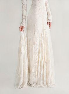 Rue De Seine Chloe Wedding Dress via oncewed.com