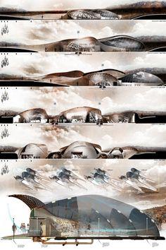 The Tumamac Habitat Center in Tucson, Arizona by Daniel Caven