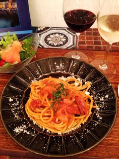 Bistro cosicosi❤︎ Today's Dinner❤︎ date❤︎2014.6 ⋈トマトソースパスタ
