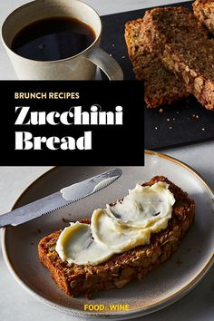 This simple and quick zucchini breakfast bread recipe is great for any quick breakfast, snack, side dish, or dessert. Pop this zucchini bread in a pan to toast it, and add butter, yogurt, or ice cream for a light summer dessert. This breakfast recipe is as simple as it gets, with only 15 minutes of active prep time. This recipe yields 12 servings, making it a perfect family breakfast. #zucchinibread #zucchinirecipes #summerrecipes #breakfastrecipes #brunchrecipes Zucchini Breakfast, Breakfast Bread Recipes, Zucchini Bread, Light Summer Desserts, Best Brunch Recipes, Pecan Rolls, Toasted Pecans, Salted Butter, Pecans