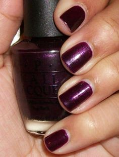 Lincoln Park at Midnight by O.P.I. - the only color I wear pretty much all winter!