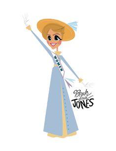 Mrs.Banks, Mary Poppins Digital Art Print, Sister Suffragette, Women's Rights, Mary Poppins Art by BreakfastJones on Etsy https://www.etsy.com/listing/507234767/mrsbanks-mary-poppins-digital-art-print