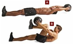Top 10 Medicine Ball Exercises And Their Benefits.