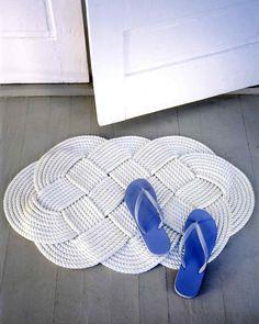 tapis à tresser