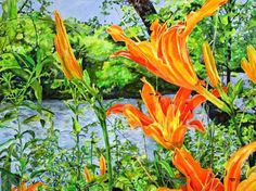 Down by the French Broad River | KIM RODY Ocean & Mountain art