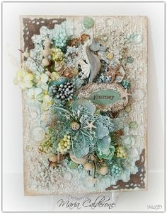 Big mixed media Giveaway and project share