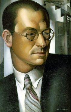 Portrait of Pierre de Montaut, 1931 -Tamara de Lempicka - by style - Art Deco
