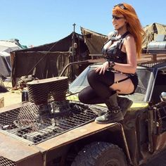 21 Reasons to Check Out Wasteland Weekend - Mad Duo Co Apocalypse World, Apocalypse Survival, Cosplay Outfits, Cosplay Girls, Steampunk, Wasteland Weekend, Psychobilly, Shadowrun, Mad Max