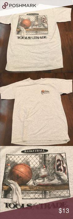 Walt Disney 90s basketball t shirt 1999, Disney world t shirt tools of the trade. This shirt is amazing Disney Shirts Tees - Short Sleeve