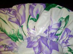 Cute Mom's gift! Waterproof Shower Cap Sring Flowers Lavender Purple by web4soleil, $15.50
