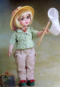 Tonner-Engelbreit-Ann-Estelle-FIELD-GUIDE-OUTFIT-ONLY-BUTTERFLY-NET-no-doll