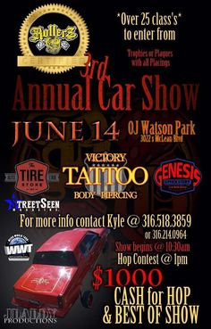 Rollerz Only Car Show