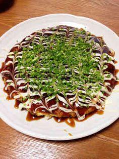 お好み焼き http://cookpad.com/recipe/3743438