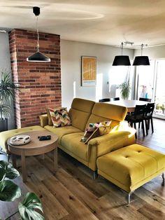 Aranżacja wykonana za pomocą cegły CLASSIC PREMIUM Couch, Classic, Furniture, Home Decor, Derby, Settee, Decoration Home, Sofa, Room Decor