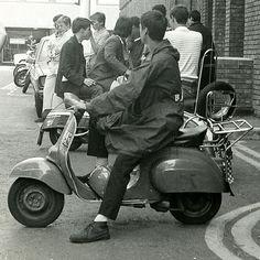 Mods on scooters in London, 1979 |  | Scooter, Lambretta, Vespa, 1970's & 80's