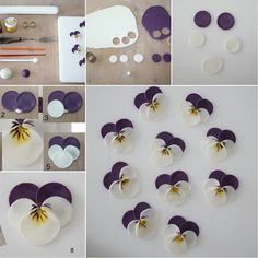 These Polymer Clay Pansies Truly Deserve a Wow - http://www.amazinginteriordesign.com/polymer-clay-pansies-truly-deserve-wow/