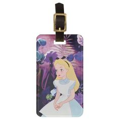 Alice in Wonderland Garden Flowers Film Still. Regalos, Gifts. #Bag #Tags