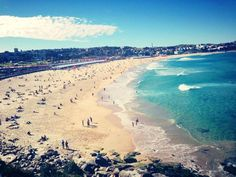 Bondi Beach represents to me freedom and life. It challenges me to think about what i should do in my life. It suggests about my personality that i like to swim and lye in the sand while the sun shines on me.