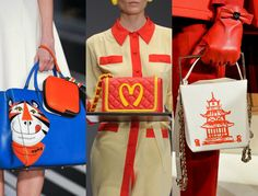 10 Fall 2014 Fashion Trends to Know | StyleCaster Kitschy, junk food-fixated bags