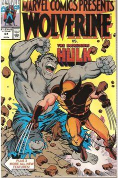Marvel Comics Presents #61 - Wolverine vs. The Incredible Hulk