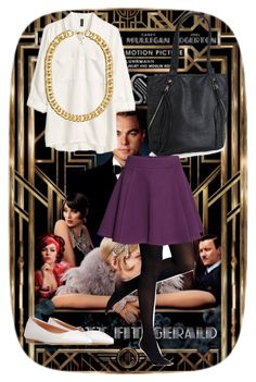 """Outfit for Gatsby presentation"" by kaypee55 ❤ liked on Polyvore featuring Gatsby, H&M, 8, Aéropostale and Express"