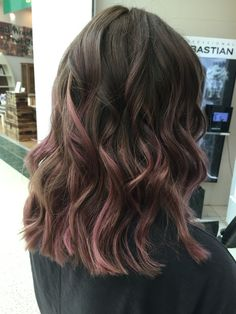 Pink balayage, using Olaplex and Muted tones to achieve this gorgeous dusky pink @pkaihair