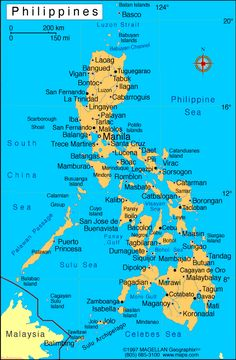 Life revolves around the sea on many of the islands of the Philippines. The Philippines, in southeastern Asia, consists of islands. Trinidad, Philippine Map, Fort Santiago, Vie Simple, Filipino Culture, Visayas, World Thinking Day, Mindanao, San Fernando