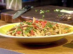 Food Network invites you to try this Penne with Cajun Hot Links and Chipotle Shrimp recipe from Guy's Big Bite .