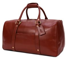 The Duffle Suitcase – Wool and Oak