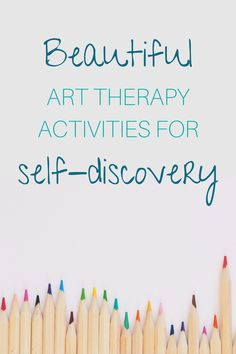 Art therapy activities are an excellent way to deepen the knowledge about yourself. Through fun activity discover what moves you and what keeps you stuck. Group Therapy Activities, Activities For Teens, Art Activities, Leadership Activities, Counseling Activities, Educational Leadership, Educational Technology, Physical Activities, Art Therapy Projects