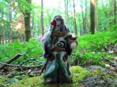 Irish Druid Needle Felted Figure by FollowTheForest on Etsy Celtic Nations, Irish Traditions, Natural World, Folklore, My Childhood, Needle Felting, Fairy Tales, Faith, This Or That Questions