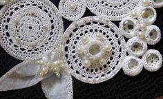 Please SHARE to help. An intricately handmade elegant necklace. https://www.etsy.com/listing/232193541/a-crochet-bridal-necklace?ref=shop_home_active_6…